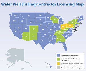 drilling license map