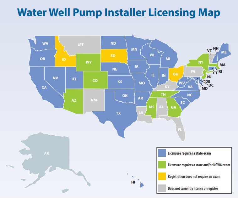 pump license map